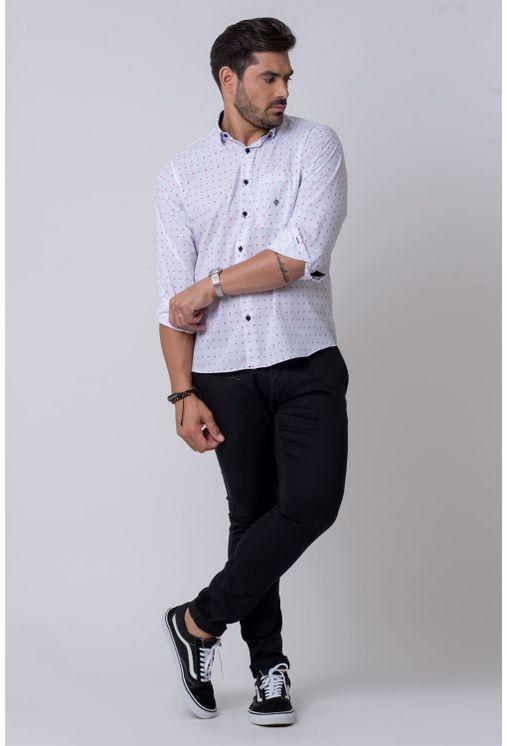 Camisa-casual-masculina-tradicional-algodao-misto-branco-f02147a-4