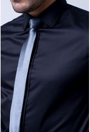 Camisa-social-masculina-tradicional-algodao-fio-80-preto-r09938a-3