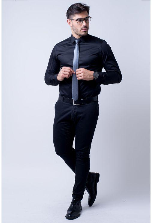 Camisa-social-masculina-tradicional-algodao-fio-80-preto-r09938a-4