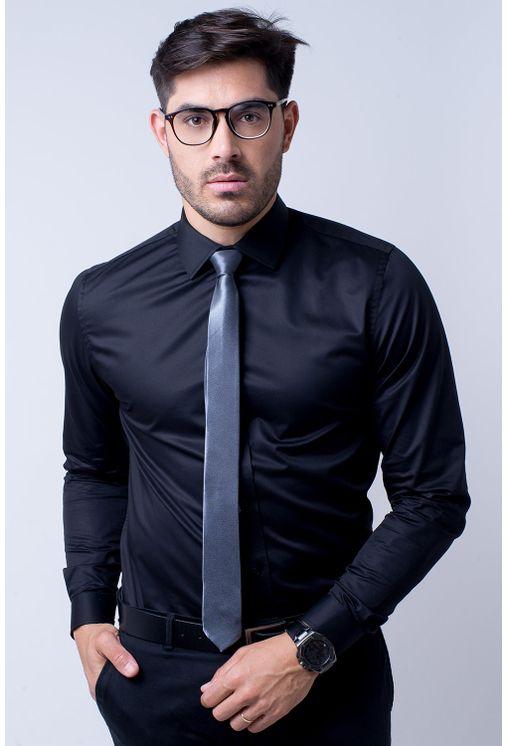 Camisa-social-masculina-tradicional-algodao-fio-80-preto-r09938a-1