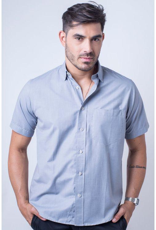 Camisa-casual-masculina-tradicional-algodao-misto-cinza-r09926a-1