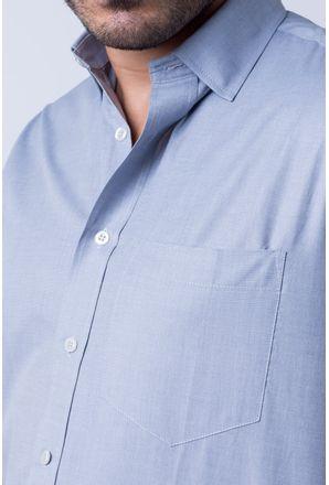Camisa-casual-masculina-tradicional-algodao-misto-cinza-r09926a-3