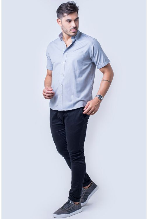 Camisa-casual-masculina-tradicional-algodao-misto-cinza-r09926a-4