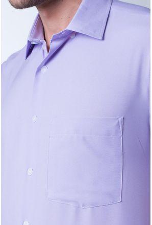 Camisa-casual-masculina-tradicional-algodao-misto-lilas-r09926a-3