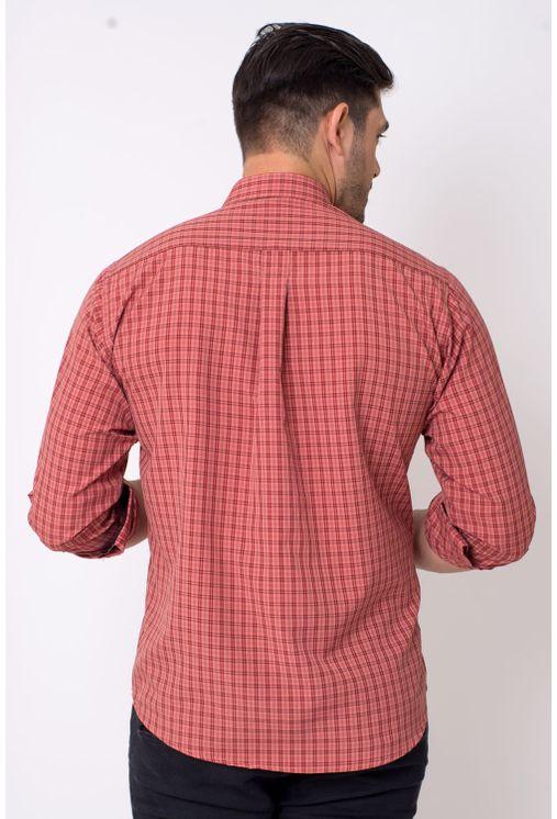 Camisa-casual-masculina-tradicional-microfibra-vermelho-f01791a-2