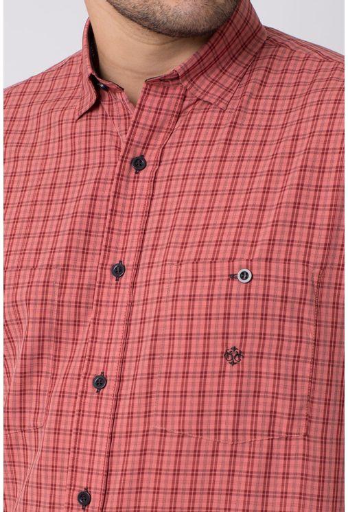 Camisa-casual-masculina-tradicional-microfibra-vermelho-f01791a-3