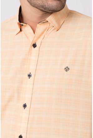 Camisa-casual-masculina-tradicional-microfibra-laranja-f01792a-3