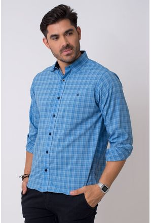 Camisa-casual-masculina-tradicional-microfibra-azul-f01792a-1