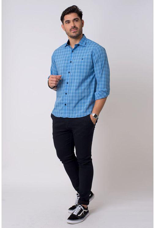 Camisa-casual-masculina-tradicional-microfibra-azul-f01792a-4