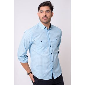 Camisa-casual-masculina-tradicional-microfibra-azul-claro-f01791a-1