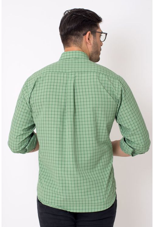 Camisa-casual-masculina-tradicional-microfibra-verde-f01791a-2