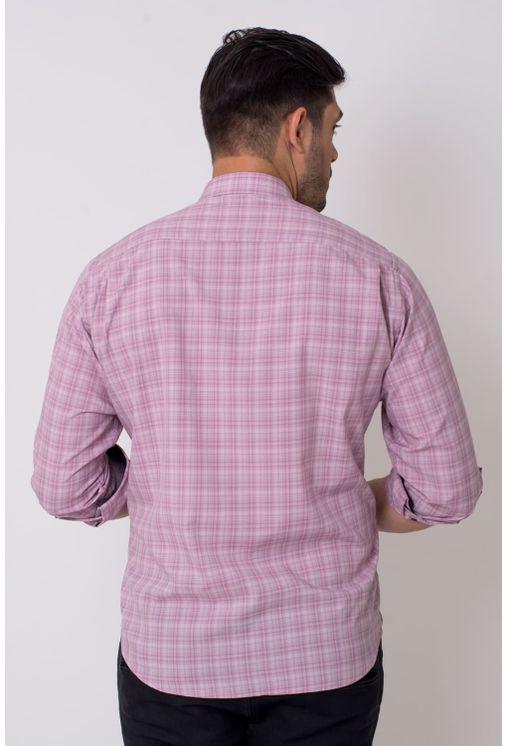 Camisa-casual-masculina-tradicional-microfibra-rosa-f01792a-1