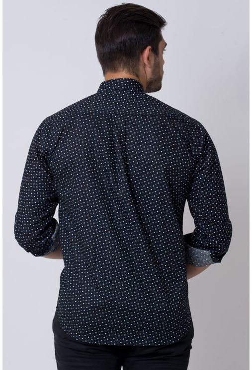 Camisa-casual-masculina-tradicional-algodao-fio-60-azul-f02165a-2