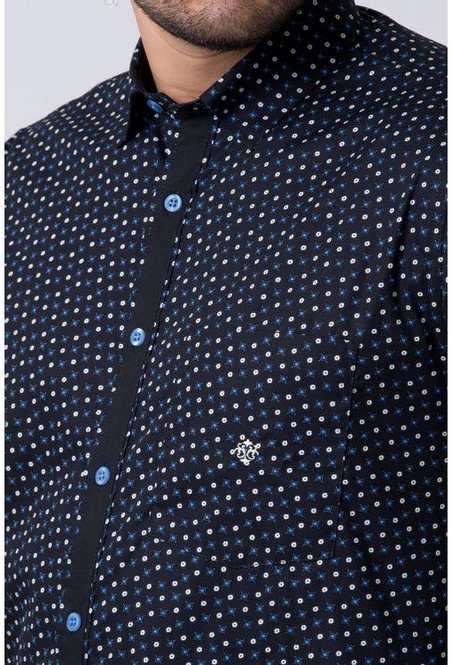 Camisa-casual-masculina-tradicional-algodao-fio-60-azul-f02165a-3