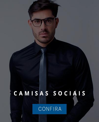 b0e2d23136 Camisa Social Masculina é na Fascynios