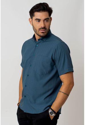 Camisa-casual-masculina-tradicional-microfibra-verde-f07279a-1