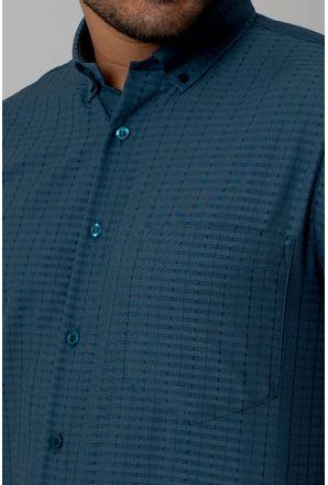 Camisa-casual-masculina-tradicional-microfibra-verde-f07279a-3