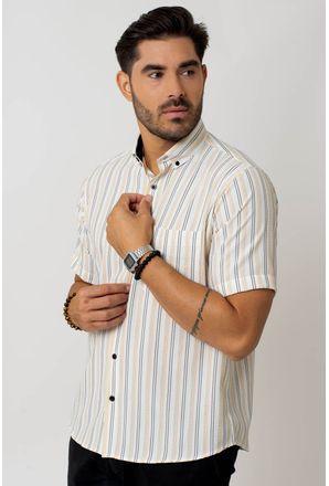 Camisa-casual-masculina-tradicional-microfibra-verde-claro-f07938a-1