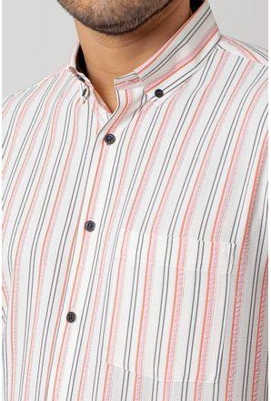 Camisa-casual-masculina-tradicional-microfibra-laranja-f07938a-3