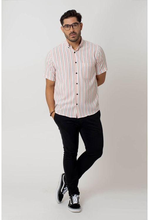 Camisa-casual-masculina-tradicional-microfibra-laranja-f07938a-4