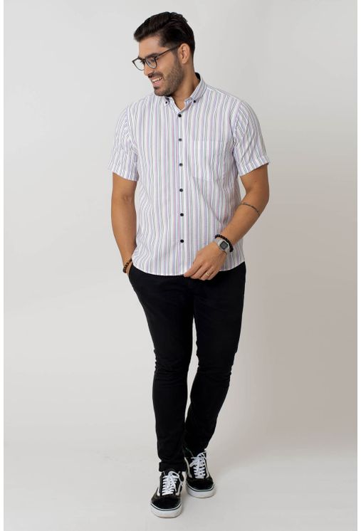 Camisa-casual-masculina-tradicional-microfibra-azul-f07938a-4