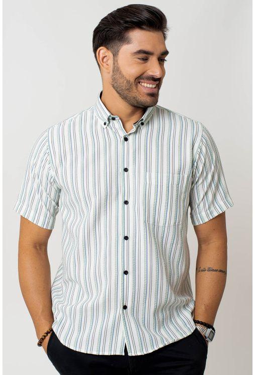 Camisa-casual-masculina-tradicional-microfibra-verde-escuro-f07938a-1
