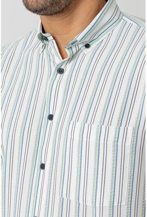 Camisa-casual-masculina-tradicional-microfibra-verde-escuro-f07938a-3