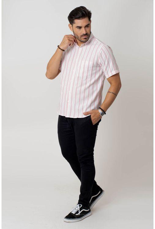 Camisa-casual-masculina-tradicional-microfibra-vermelho-f07939a-4