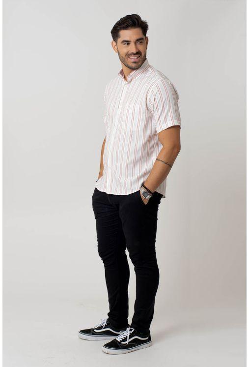 Camisa-casual-masculina-tradicional-microfibra-salmao-f07939a-4
