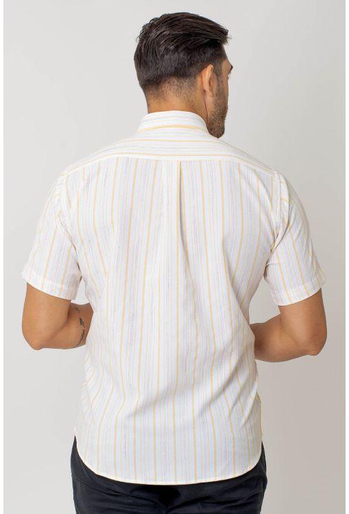 Camisa-casual-masculina-tradicional-microfibra-amarelo-f07940a-2