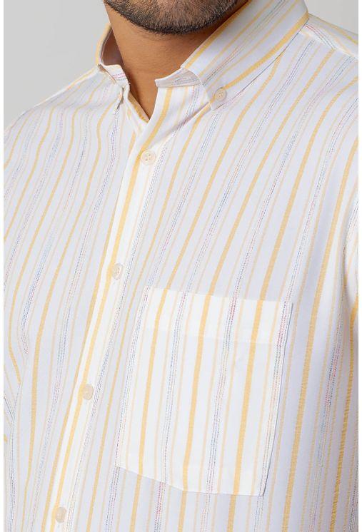 Camisa-casual-masculina-tradicional-microfibra-amarelo-f07940a-3