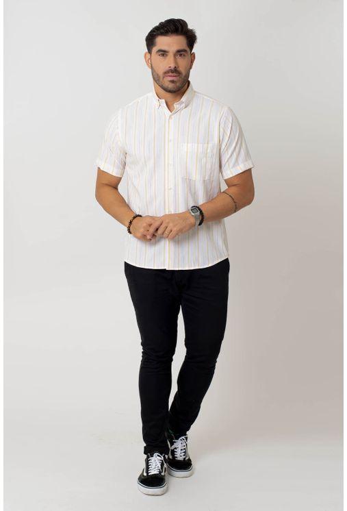 Camisa-casual-masculina-tradicional-microfibra-amarelo-f07940a-4