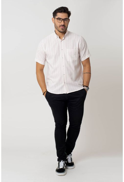 Camisa-casual-masculina-tradicional-microfibra-laranja-f07941a-4