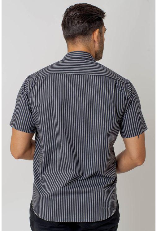 Camisa-casual-masculina-tradicional-algodao-fio-50-verde-f01267a-2