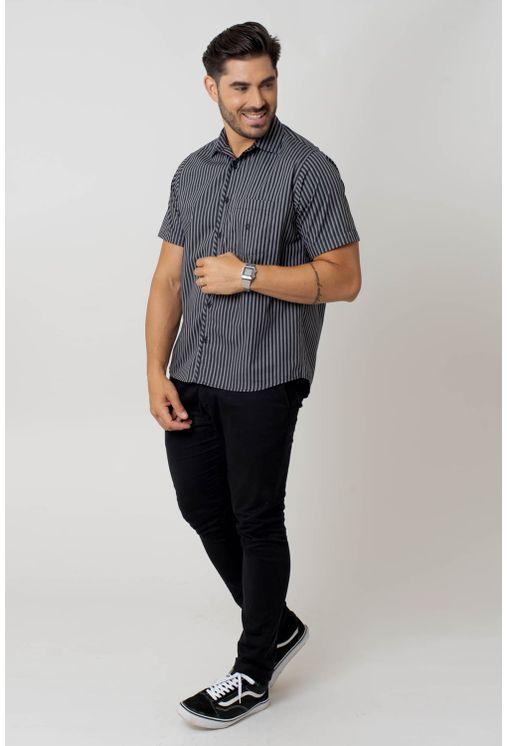 Camisa-casual-masculina-tradicional-algodao-fio-50-verde-f01267a-4