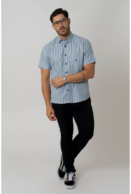 Camisa-casual-masculina-tradicional-algodao-fio-50-azul-escuro-f01268a-1
