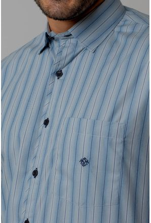 Camisa-casual-masculina-tradicional-algodao-fio-50-azul-escuro-f01268a-3