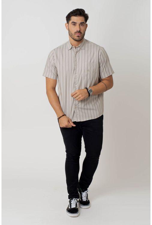 Camisa-casual-masculina-tradicional-algodao-fio-50-bege-f01267a-4