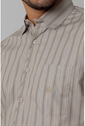 Camisa-casual-masculina-tradicional-algodao-fio-50-bege-f01267a-3