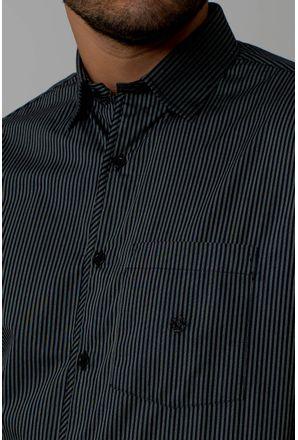 Camisa-casual-masculina-tradicional-algodao-fio-50-preto-f01269a-3