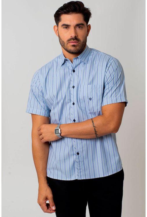 Camisa-casual-masculina-tradicional-algodao-fio-50-azul-medio-f01269a-1