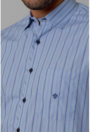 Camisa-casual-masculina-tradicional-algodao-fio-50-azul-medio-f01269a-3