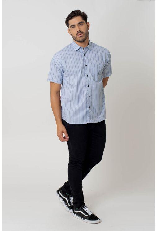 Camisa-casual-masculina-tradicional-algodao-fio-50-azul-medio-f01269a-4