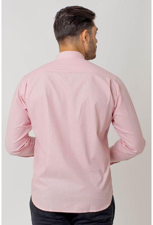 Camisa-casual-masculina-tradicional-algodao-fio-40-rosa-f02090a-2