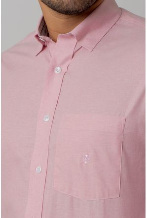 Camisa-casual-masculina-tradicional-algodao-fio-40-rosa-f02090a-3