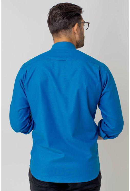Camisa-casual-masculina-tradicional-algodao-fio-40-azul-f02090a-2