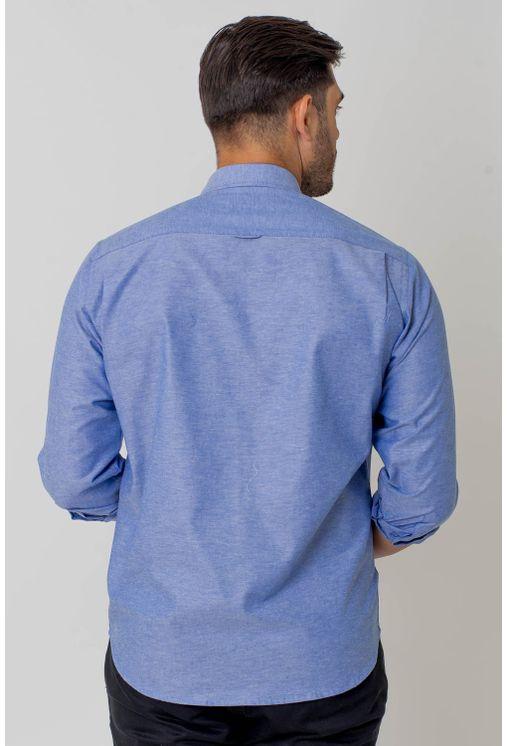 Camisa-casual-masculina-tradicional-algodao-fio-40-azul-claro-f02090a-2