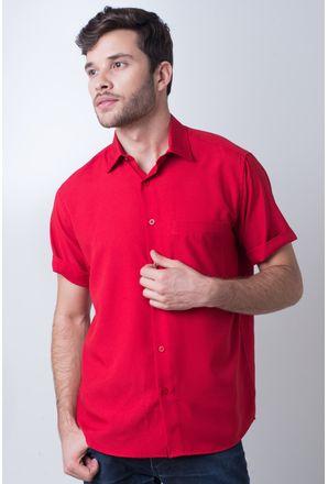 Camisa-casual-masculina-tradicional-microfibra-vermelho-f06208a003-1