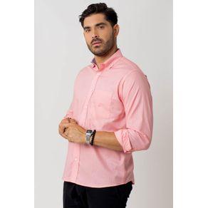 Camisa-casual-masculina-tradicional-algodao-fio-40-rosa-f02099a-1