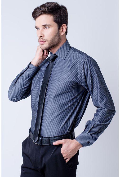 Camisa-social-masculina-tradicional-algodao-fio-50-azul-escuro-f07872a-1